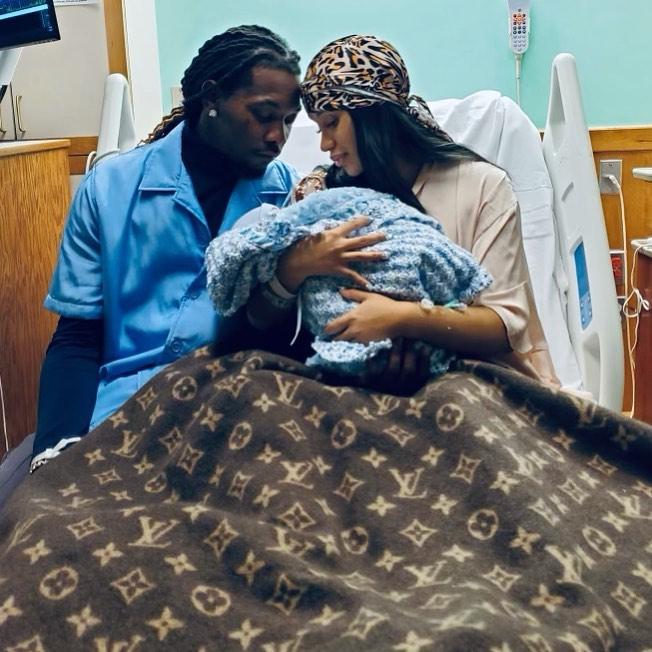 Cardi B Gives Birth to Baby No. 2